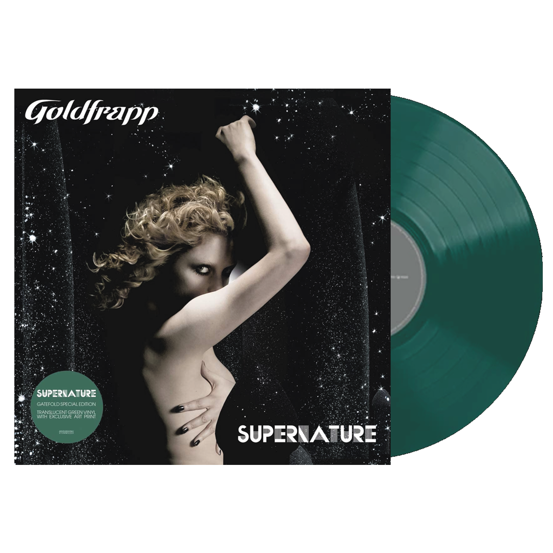 Goldfrapp - Supernature Limited Edition Transparent Green Colour Vinyl Record Album