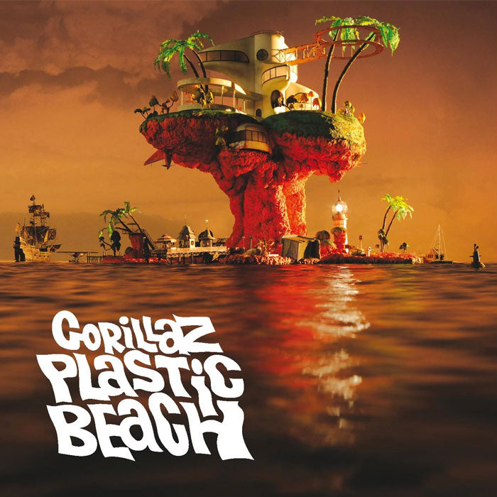 Gorillaz ‎– Plastic Beach 2LP 180g Remastered Vinyl Record Album