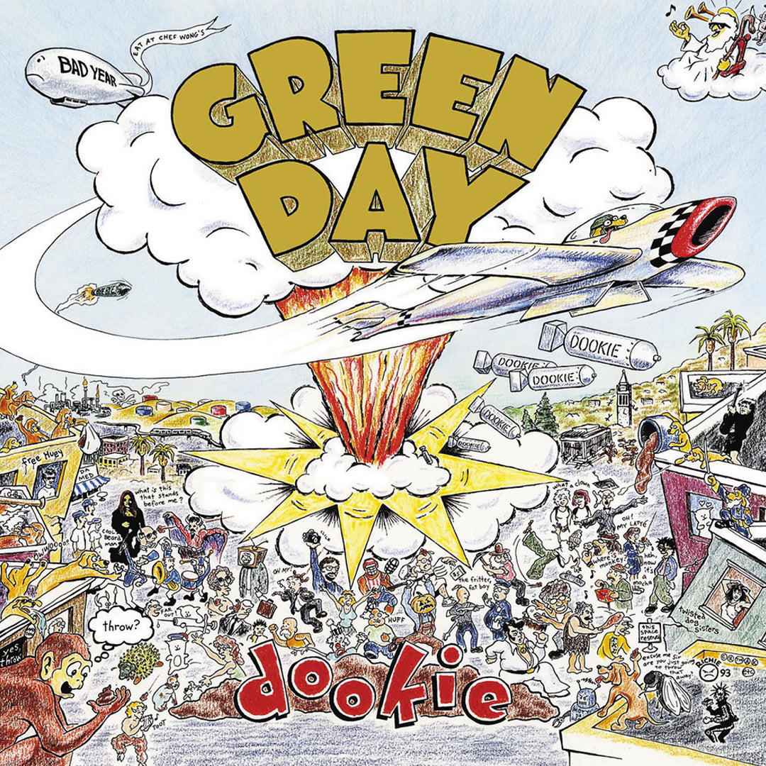 Green Day ‎– Dookie Vinyl Record Album