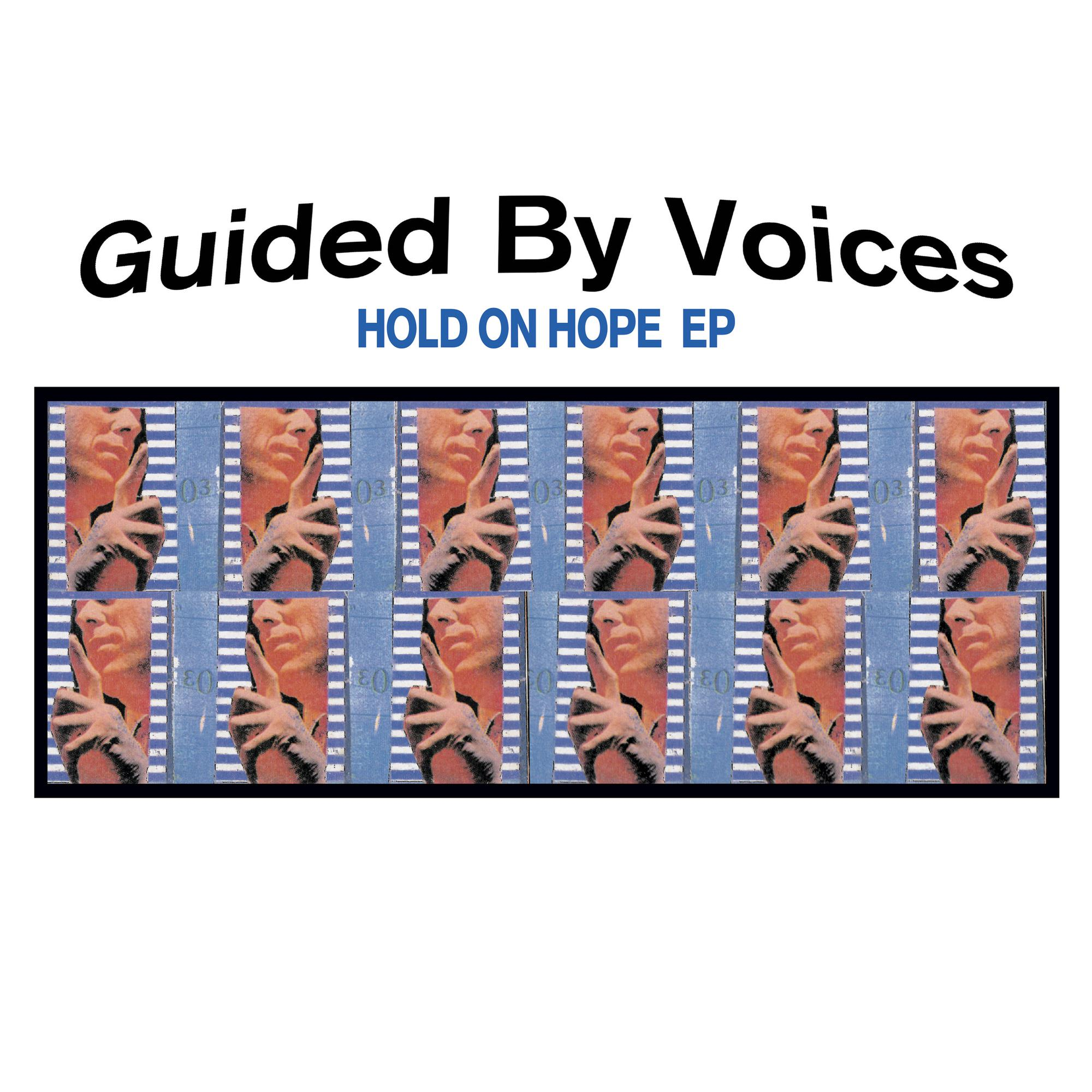 "Guided By Voices - Hold On Hope (RSD 2020 Drop One) Translucent Clear 10"" Vinyl Record"