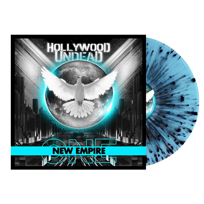 Hollywood Undead - New Empire Volume 1 Blue/Black Splatter Colour Vinyl Record Album