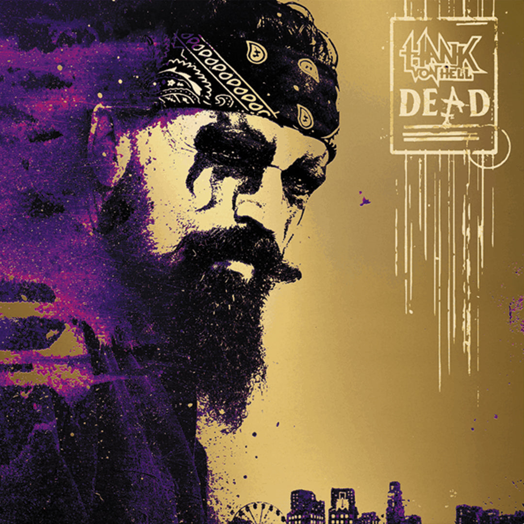 Hank Von Hell – Dead Limited Edition Purple Colour Vinyl Record