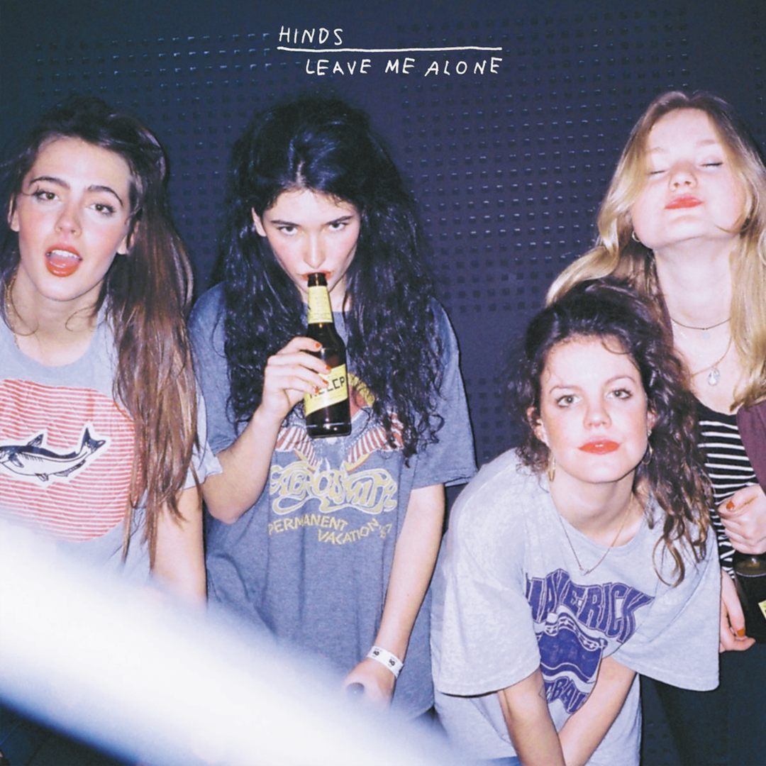 Hinds - Leave Me Alone LRS Limited Turquoise on Clear Splatter Vinyl Record Album