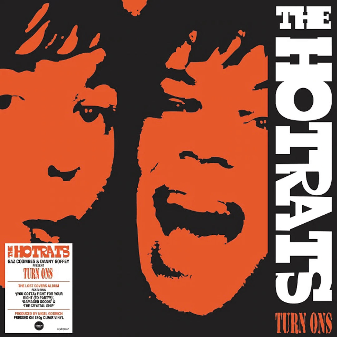 The Hotrats – Turn Ons 180g Clear Colour Vinyl Record Album