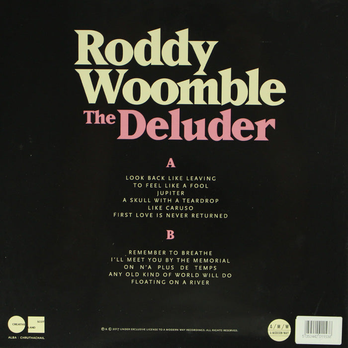 Roddy Woomble ‎– The Deluder Limited Edition Colour Vinyl Record