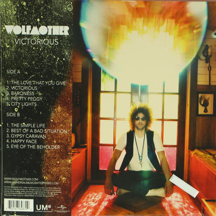 Wolfmother ‎– Victorious 180g Vinyl Record