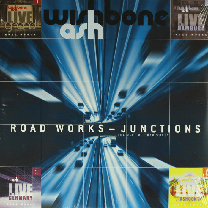 Wishbone Ash – Road Works Junctions The Best Of Road Works 2LP Vinyl Record, Vinyl, X-Records