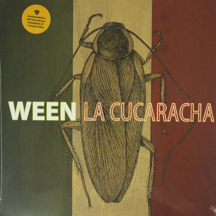 Ween ‎– La Cucaracha Limited Edition 180g Colour Vinyl Album + CD