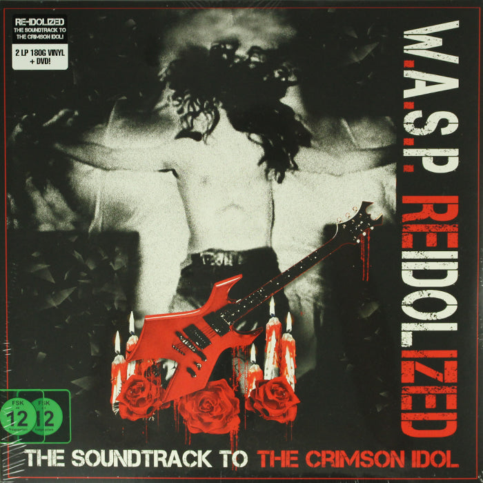 W.A.S.P. ‎– Reidolized (Crimson Idol Soundtrack) 180g 2LP Vinyl Record + DVD, Vinyl, X-Records