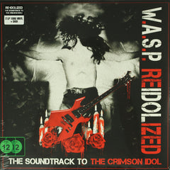 W.A.S.P. ‎– Reidolized (Crimson Idol Soundtrack) 180g 2LP Vinyl Record + DVD