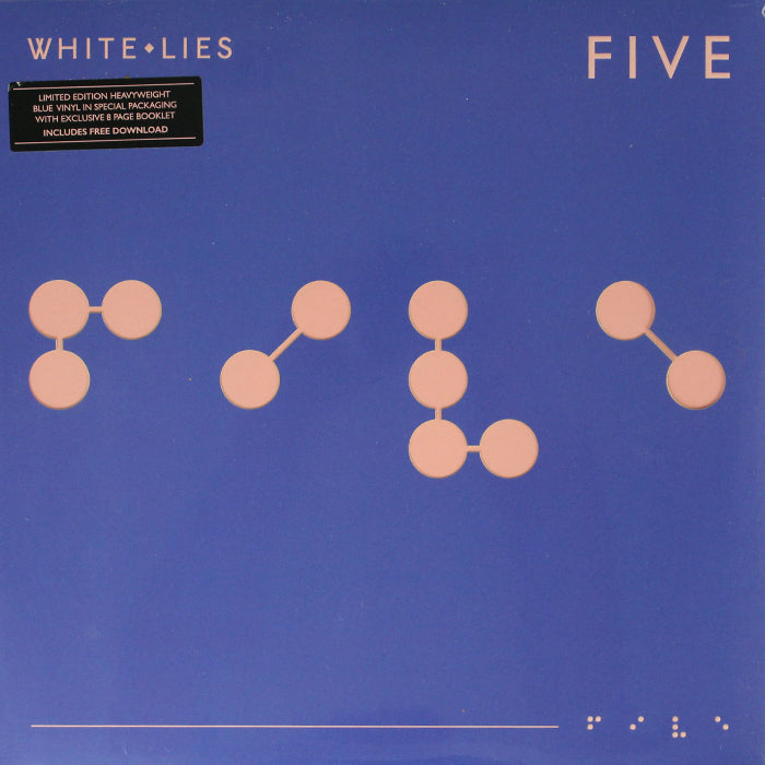 White Lies ‎– Five Limited Edition 180g Colour Vinyl Record Album