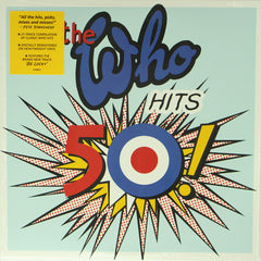 The Who ‎– The Who Hits 50! 2LP Vinyl Record Compilation