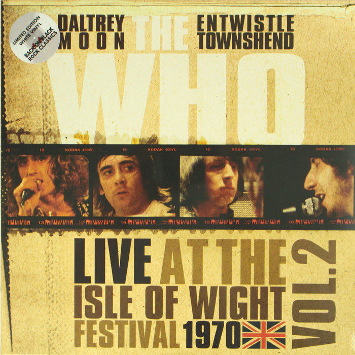 The Who ‎– Live Isle Of Wight Festival 1970 Vol.2 Colour Vinyl Record, Vinyl, X-Records