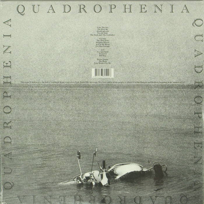 The Who ‎– Quadrophenia 2LP 2015 Reissue Vinyl Record Album