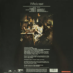 The Who ‎– Who's Next 180g Vinyl Record Album Reissue