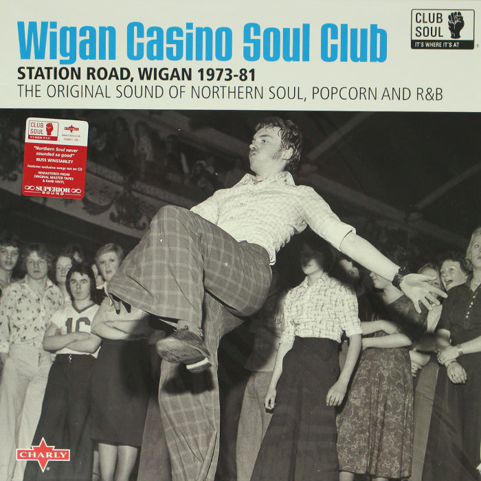 Various ‎– Wigan Casino Soul Club Vinyl Record Compilation, Vinyl, X-Records
