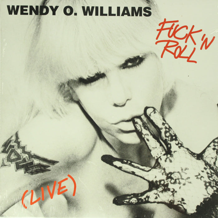 Wendy O. Williams ‎– Fuck 'N Roll Live RSD Limited Edition Vinyl Record
