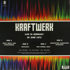 Kraftwerk - Live in Germany 25th June 1971 2LP Vinyl Record