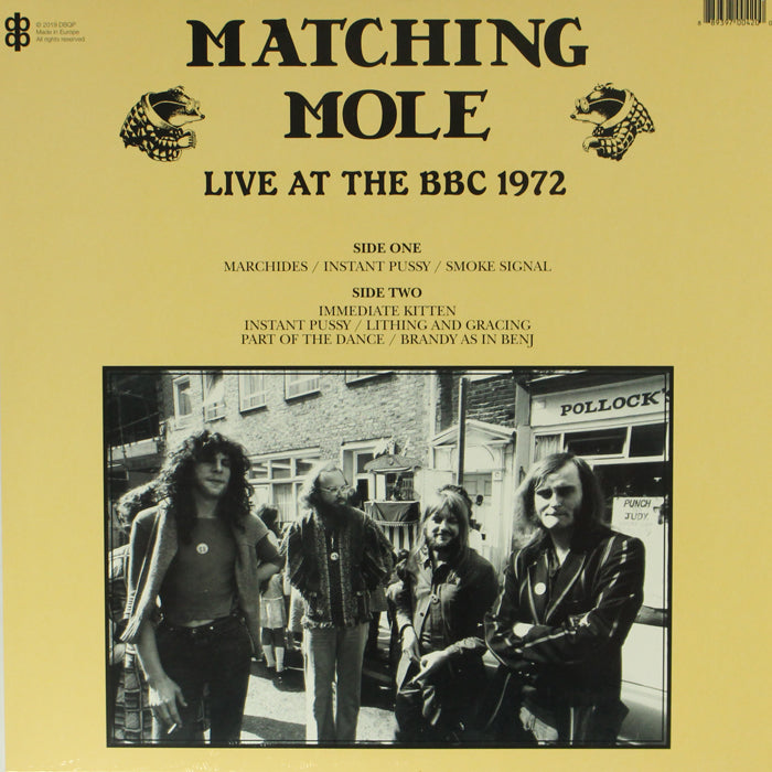 Matching Mole - Live At The BBC 1972 Vinyl Record