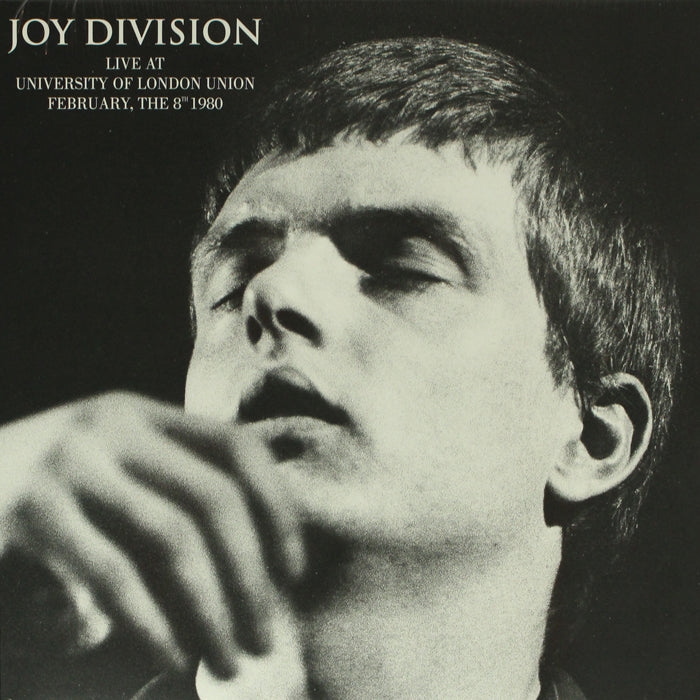 Joy Division - Live At University Of London Union February 8th 1980 Vinyl Record