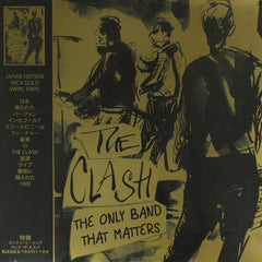 The Clash ‎– The Only Band That Matters (Japan Edition) Gold Colour Vinyl Record