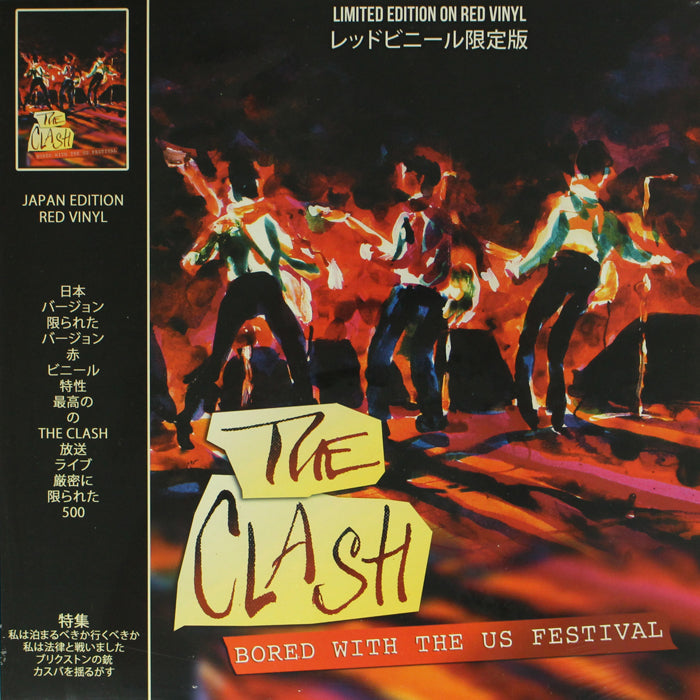 The Clash ‎– Bored With The US Festival Colour Vinyl Record