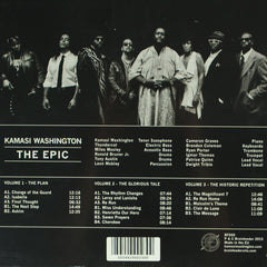 Kamasi Washington - The Epic 3LP 180g Vinyl Record Boxset, Vinyl, X-Records
