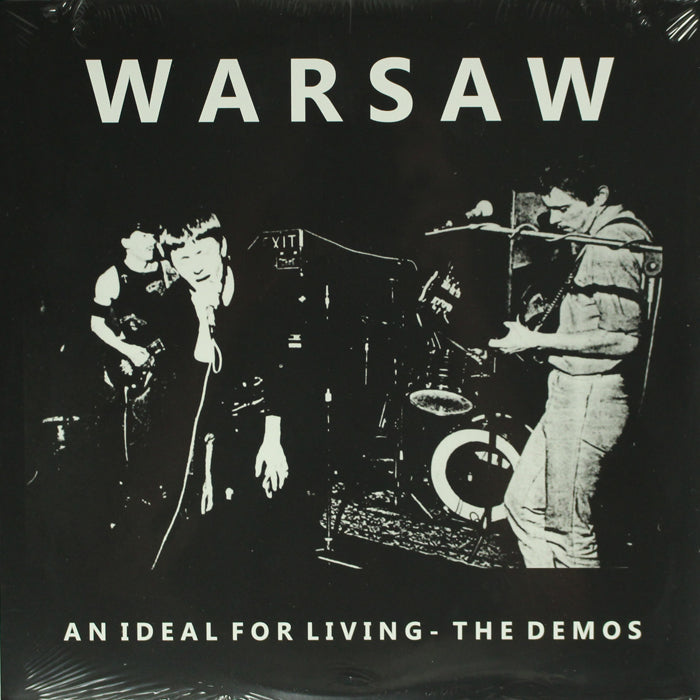 Warsaw (Joy Division)  ‎– An Ideal For Living Demos Vinyl Record Album, Vinyl, X-Records