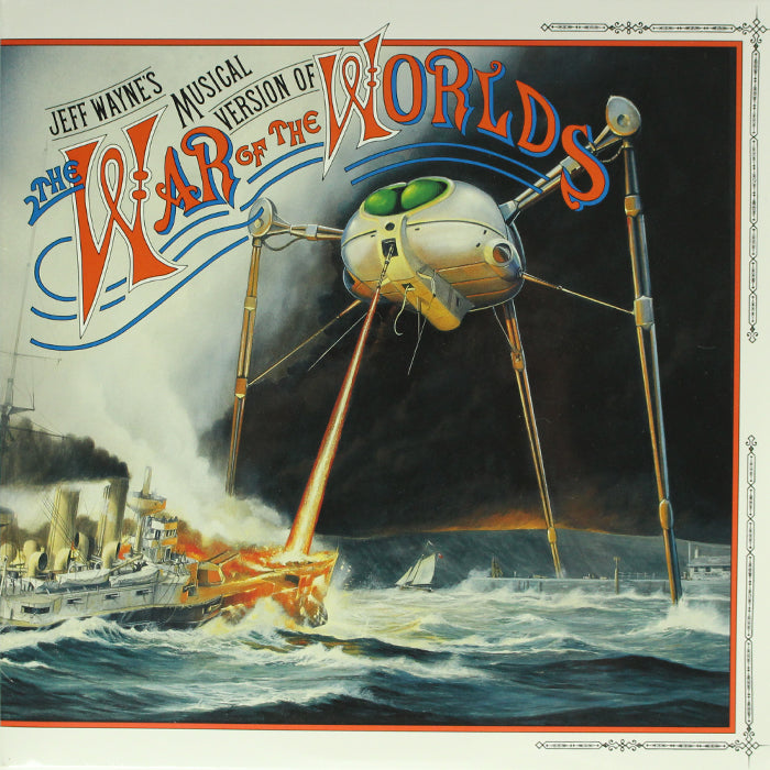 Jeff Wayne ‎– The War Of The Worlds 2LP Vinyl Record Soundtrack