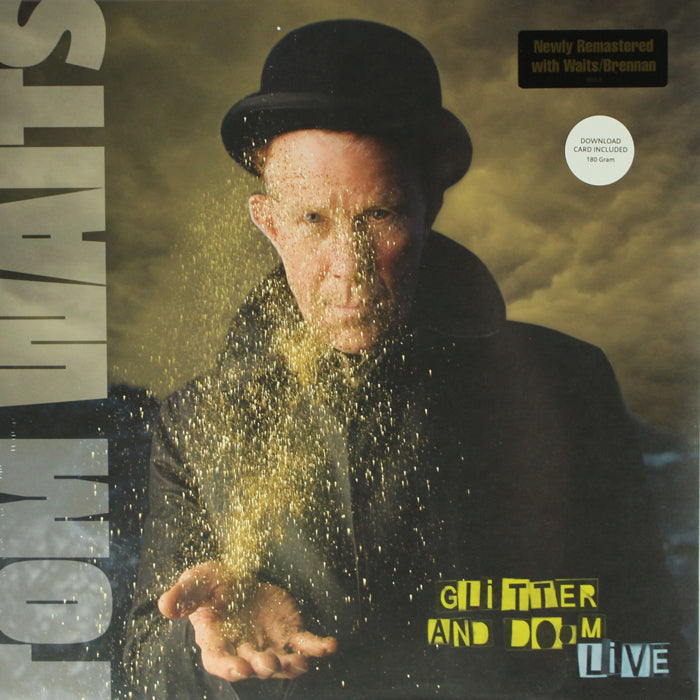Tom Waits ‎– Glitter And Doom Live 180g 2LP Vinyl Record