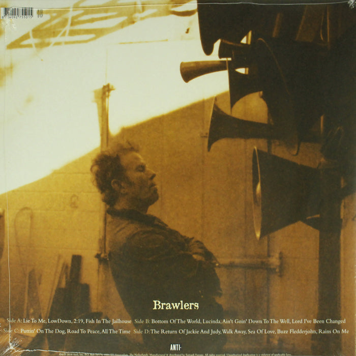 Tom Waits ‎– Brawlers Limited Edition RSD Colour 2LP Vinyl Record Album