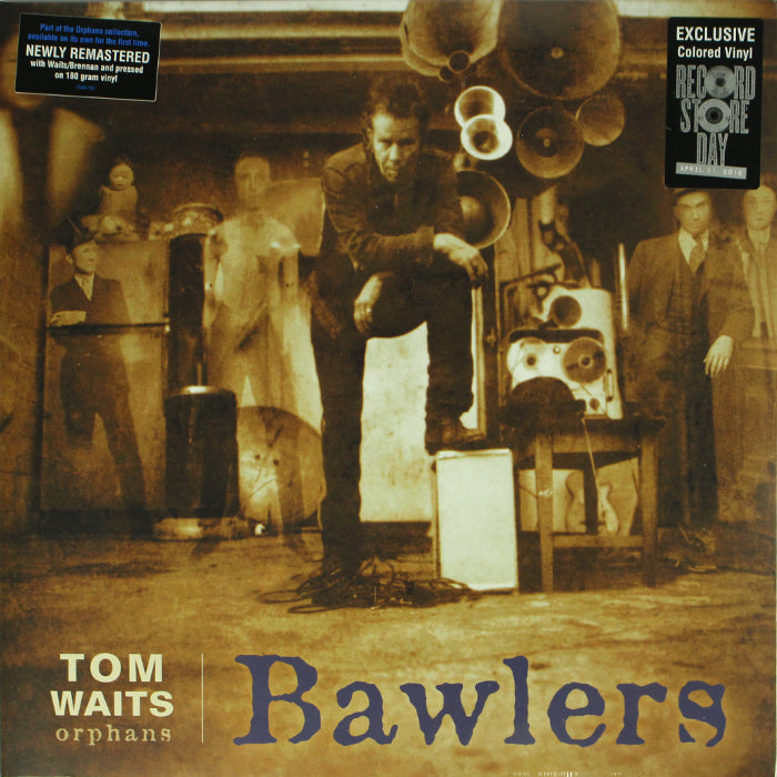 Tom Waits ‎– Bawlers RSD Limited Edition Colour Vinyl Record Album