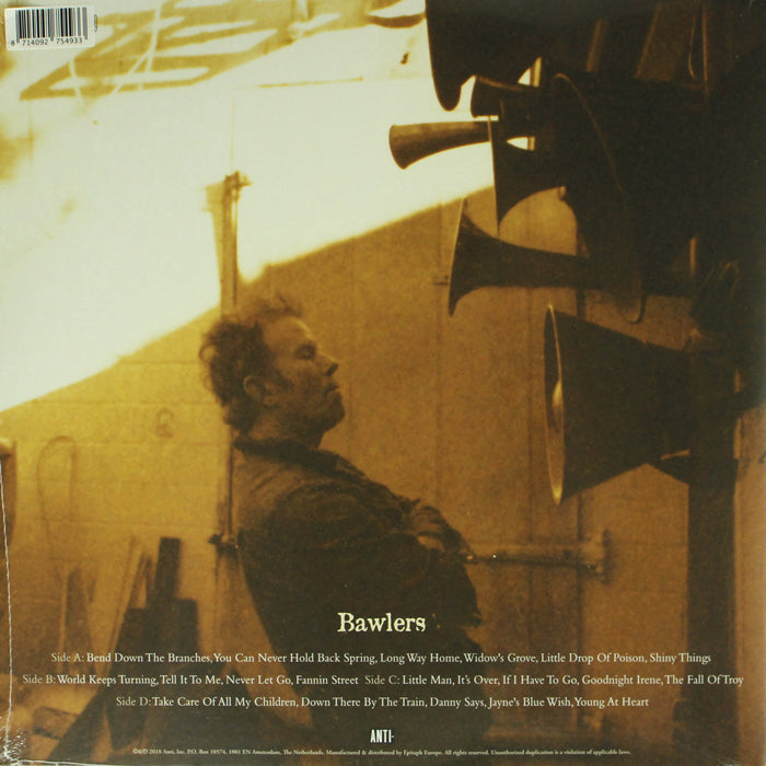 Tom Waits ‎– Bawlers RSD Limited Edition Colour Vinyl Record Album, Vinyl, X-Records