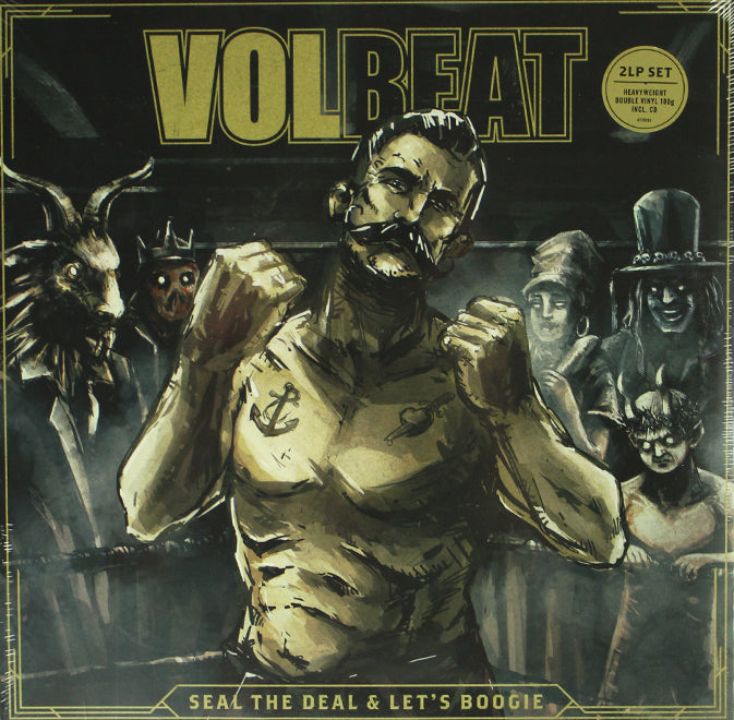 Volbeat ‎– Seal The Deal & Let's Boogie 2LP Vinyl Record Album + CD