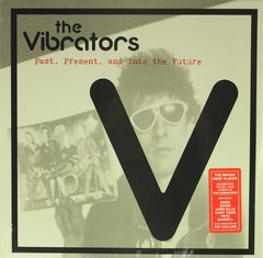 The Vibrators ‎– Past, Present, and Into the Future Colour Vinyl Record Album