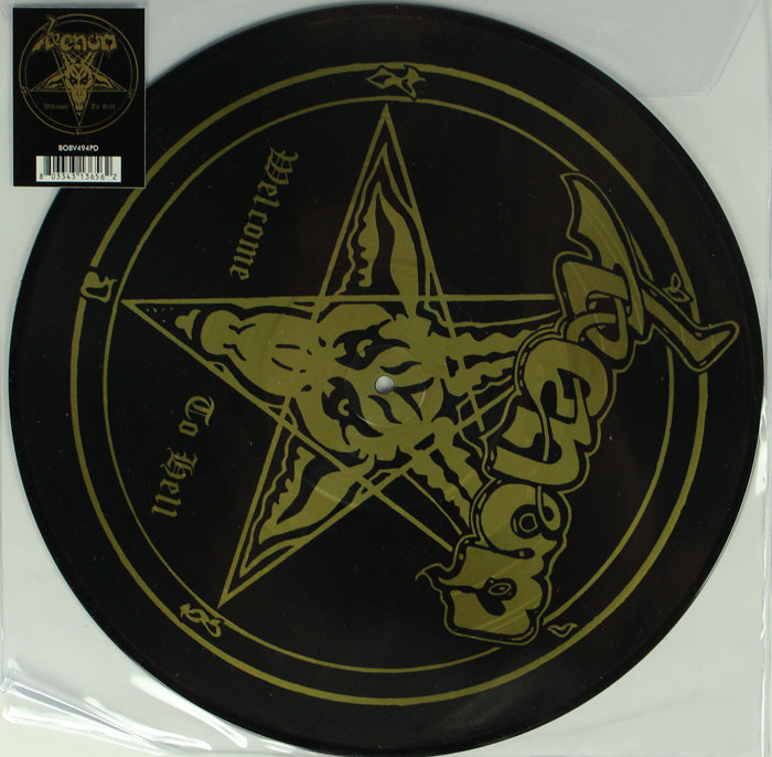 Venom ‎– Welcome To Hell RSD Limited Edition Picture Disc Vinyl Record