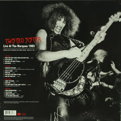 Twisted Sister ‎– Live At The Marquee 1983 2LP Red Colour Vinyl Record Reissue, Vinyl, X-Records