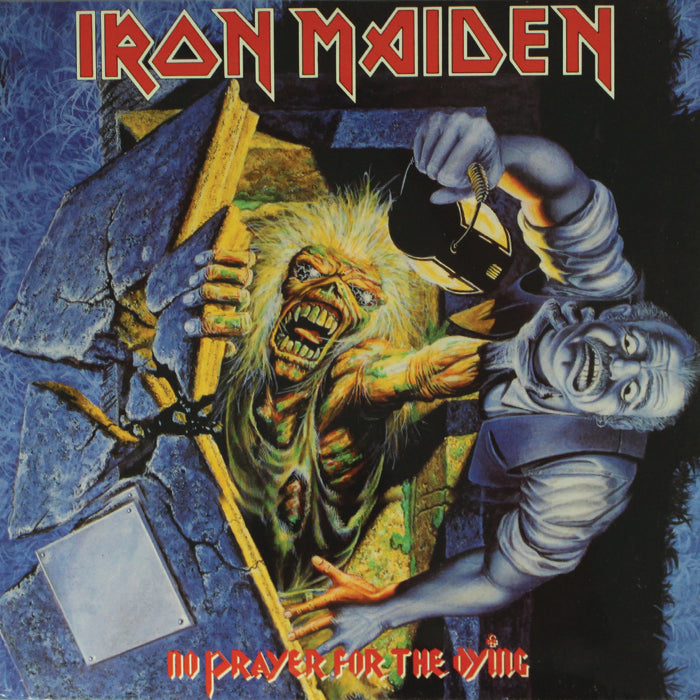 Iron Maiden ‎– No Prayer For The Dying Remastered Vinyl Record Album, Vinyl, X-Records