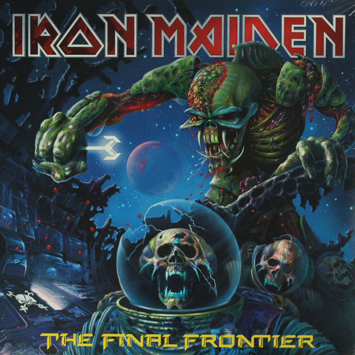 Iron Maiden ‎– The Final Frontier 2LP Vinyl Record Album, Vinyl, X-Records