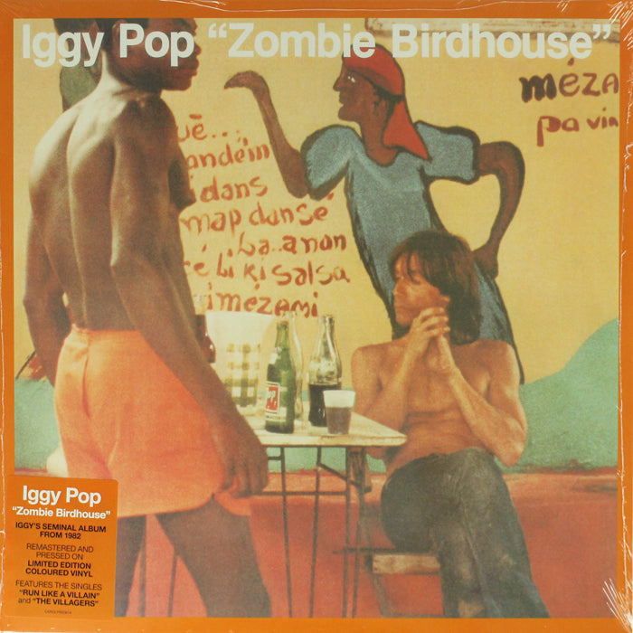 Iggy Pop ‎– Zombie Birdhouse Limited Edition Orange Colour Vinyl Album, Vinyl, X-Records