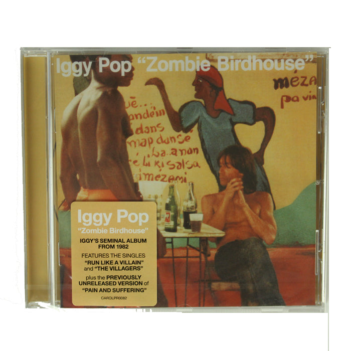 Iggy Pop ‎– Zombie Birdhouse Remastered Reissue CD Album, CD, X-Records