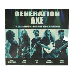 Generation Axe - The Guitars That Destroyed The World CD Album, CD, X-Records