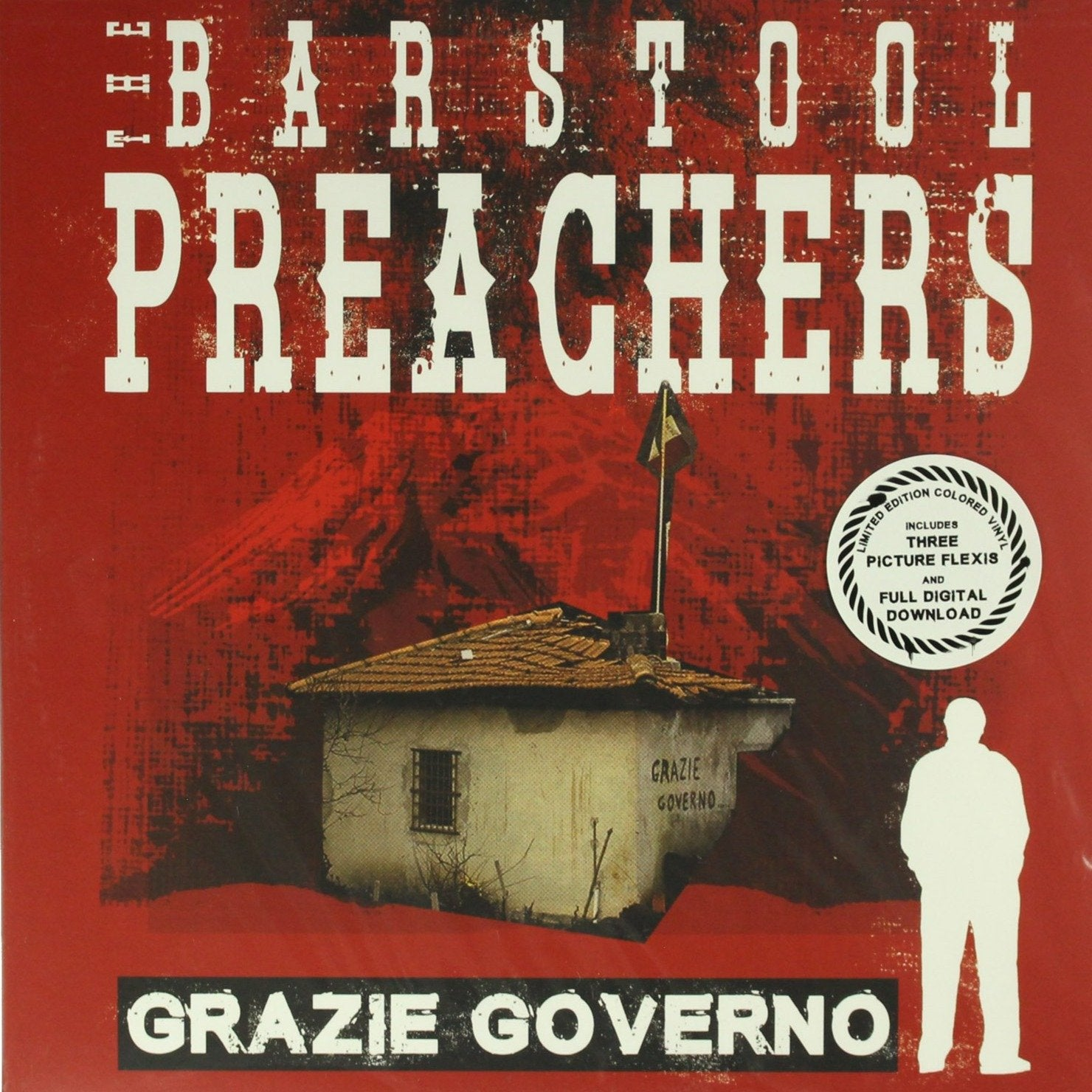 "The Bar Stool Preachers ‎– Grazie Governo 12"" Vinyl Record"