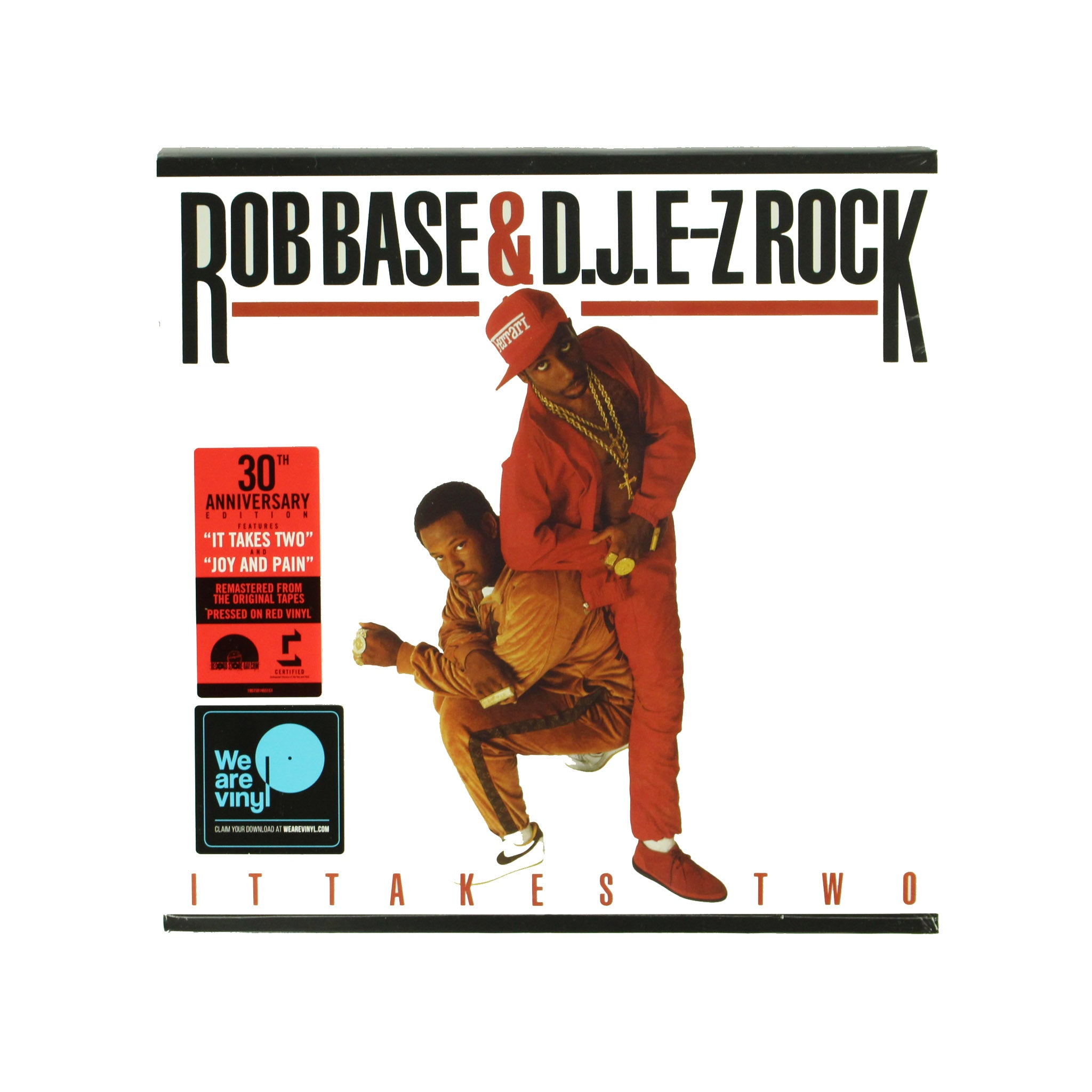 "Rob Base & D.J. E-Z Rock ‎– It Takes Two 12"" Vinyl Record"