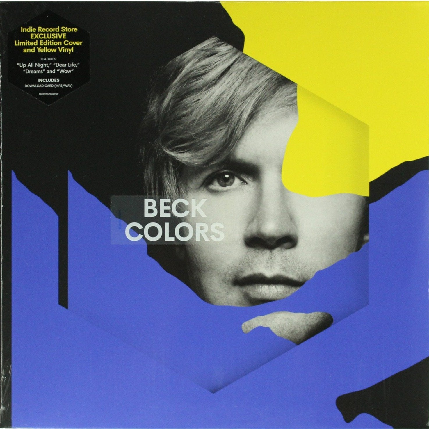 "Beck ‎– Colors Yellow Colour 12"" Vinyl Record Album"
