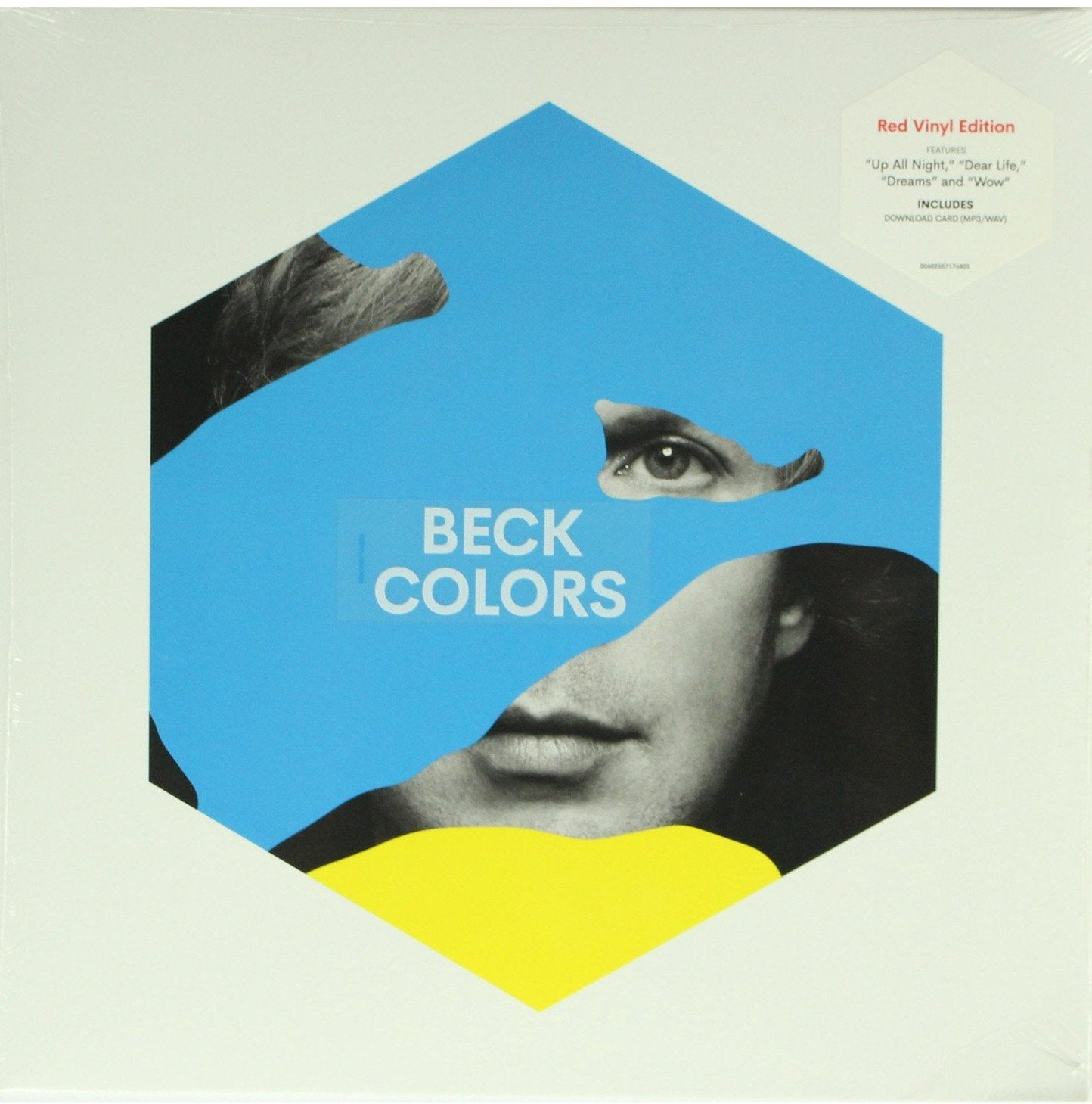 "Beck ‎– Colors Red Colour 12"" Vinyl Record Album"