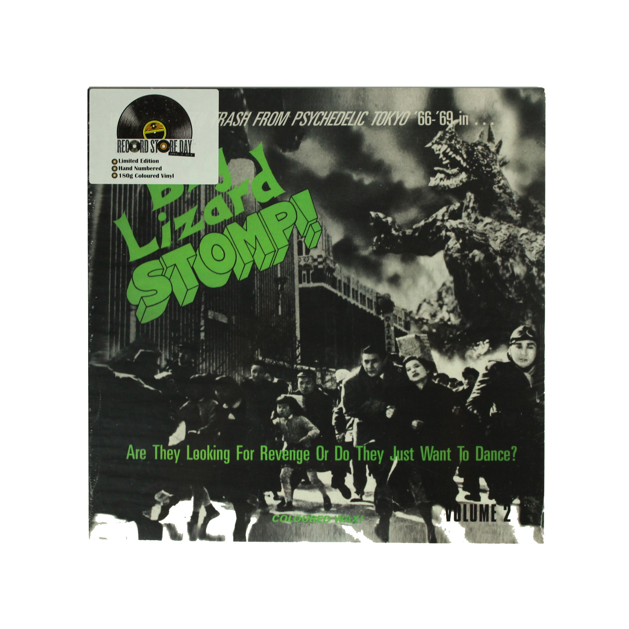 "Various ‎– Big Lizard Stomp!: Volume Two RSD 12"" Vinyl Record Compilation"