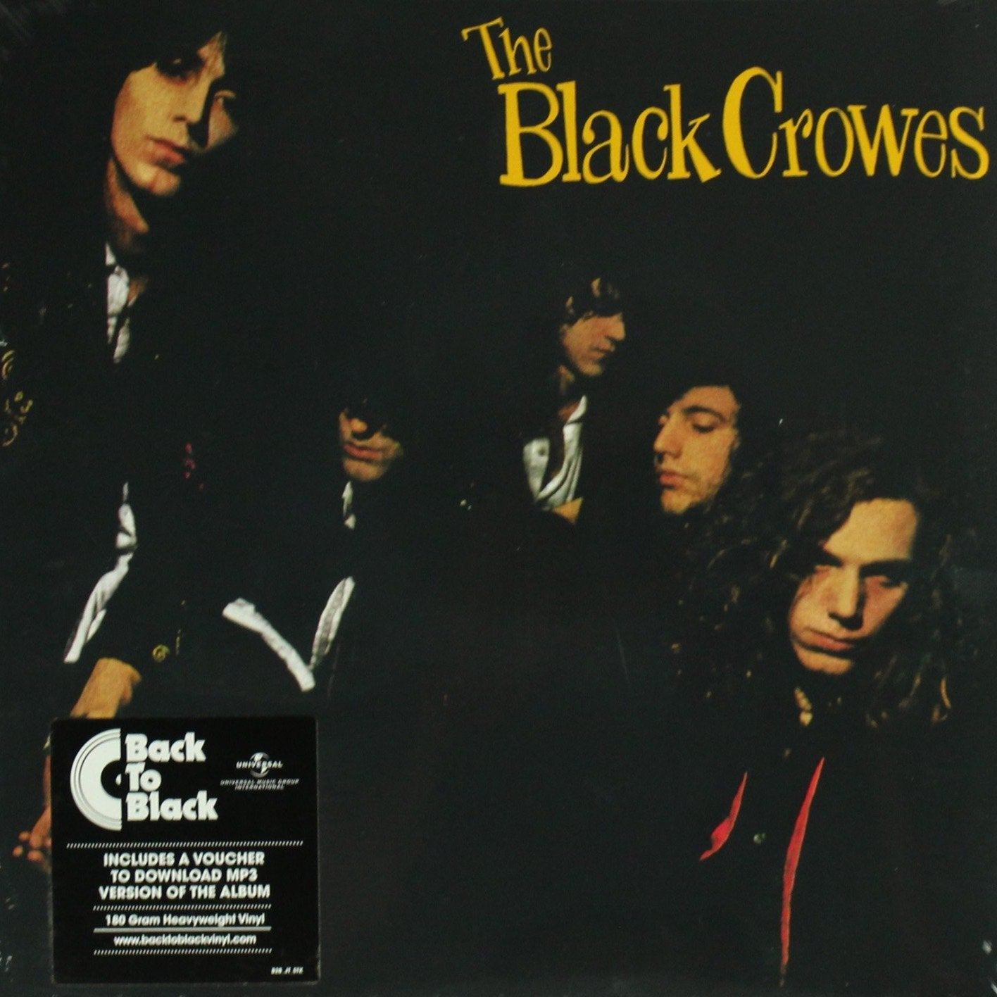 "The Black Crowes ‎– Shake Your Money Maker 180 Gram 12"" Vinyl Record Album"
