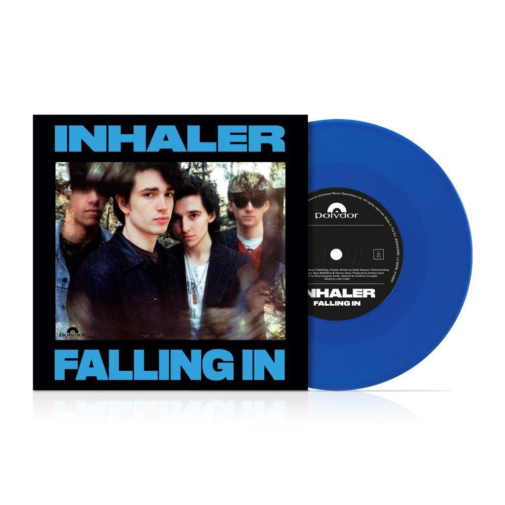 "Inhaler - Falling In Limited Edition Blue Colour 7"" Vinyl Record"