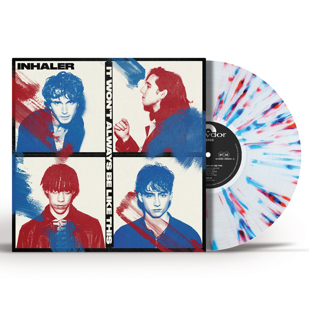 Inhaler – It Won't Always Be Like This Splatter Colour Vinyl Record Album